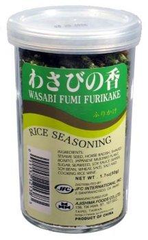 JFC - Wasabi Fumi Furikake (Rice Seasoning) 1.7 Oz.