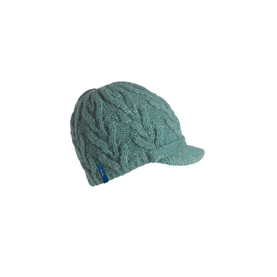Turtle Fur Simone Women's Wool Blend Visor Beanie Fully Lined w/fleece