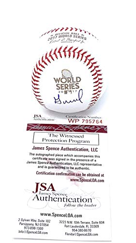 Jose Altuve Houston Astros Signed Autograph Official MLB World Series Baseball JSA Certified