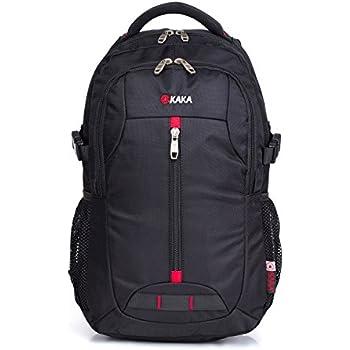 Amazon.com: KAKA Terylene Fabric Backpack for 17-Inch Laptops ...