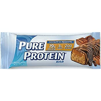 Pure Protein Chocolate Salted Caramel, 50 gram, 6 count