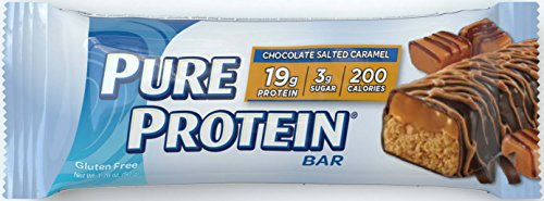Pure Protein Chocolate Salted Caramel, 50 gram, 6 count Caramel Chocolate Sugar