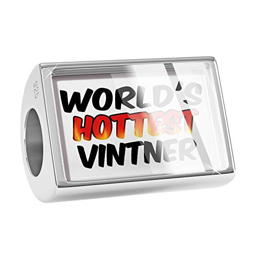 NEONBLOND Charm Worlds Hottest Vintner 925 Sterling Silver Bead