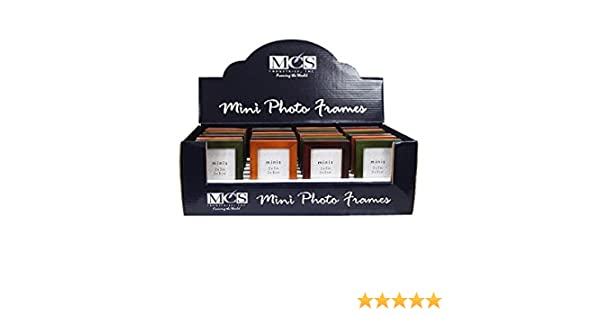 Amazoncom Mcs Jewel Tone Wood 2x3 24 Assorted Color Frames