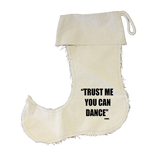 Trus Me You Can Dance Vodka Cotton Canvas Stocking Jester - Small by Style in Print (Image #1)