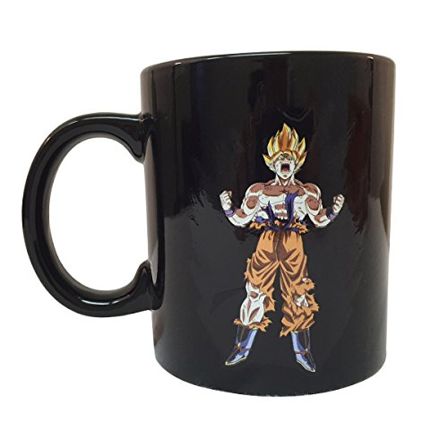 - Dragon Ball Z Saiyan Goku Heat Reactive Mug
