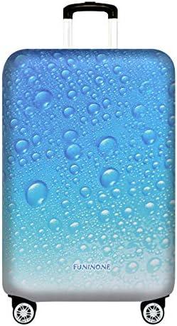 Hermosas Gotas De Agua Cubierta De Equipaje De Viaje Protector De Maleta Se Adapta A 26-28 Pulgadas Equipaje (L) Equipaje Trolley Funda Cubierta Protectora