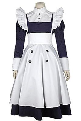 Ya-cos Halloween Masquerade Maylene Maid Dress Uniform Cosplay Costume
