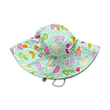 I-Play baby-girls Baby Brim Sun Protection Hat - Bf