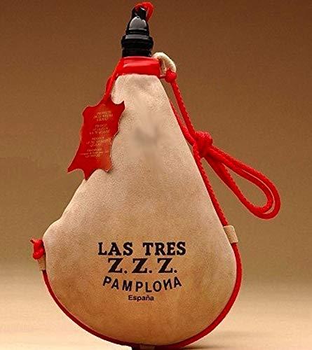 Las Tres Z Z Z Bota de Vino Recta de latex - 1,5 lit