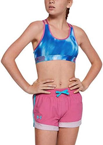 Under Armour Girls' HeatGear Armour Novelty Sports Bra