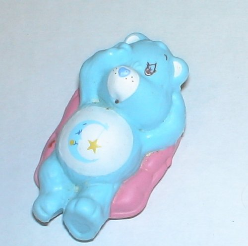 Vintage Care Bears PVC Figure : Bedtime (Vintage Kenner Care Bears)