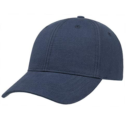 Stetson Classic Canvas Cap with UV Protection Women/Men Navy One Size