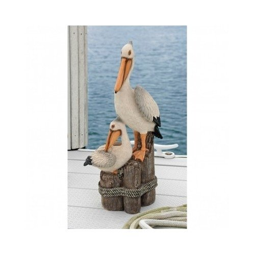 - Two Pelicans Statue Garden Decor Home Garden Decor Yard Art