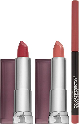 Maybelline New York NY Minute Makeup Kit Defined Nude Lip Ma