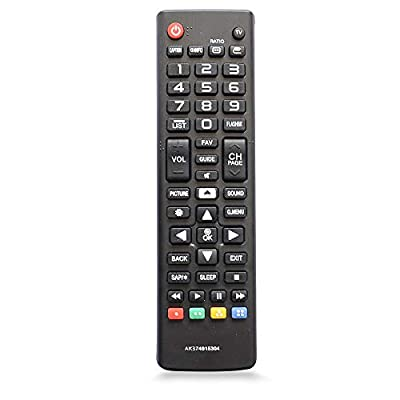 Replacement Remote Controller AKB74915304 for LG LCD LED TV 43UH6030 43UH6100 43UH6500 49UH6030 49UH6090 49UH6100 49UH6500 50UH5500 50UH5530 55UH6030 55UH6090 55UH6150 55UH6550 60UH6035 60UH6150
