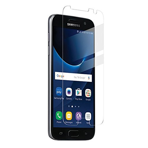 BodyGuardz - Pure Glass Screen Protector, Ultra-thin Tempered Glass Screen Protection for Galaxy S7