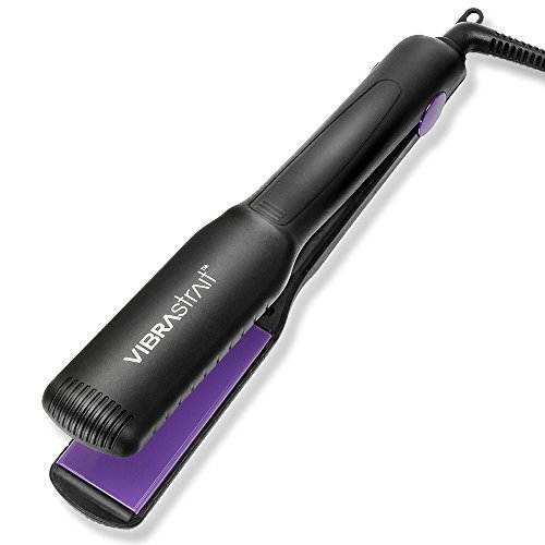 Vibrastrait Essential 1.5-inch Vibrating Flat Iron by Beautopia Hair (Best Vibrating Flat Iron)