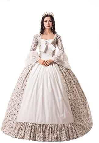 892e16b9aa6f ROLECOS Womens Renaissance Medieval Costume Trumpet Sleeve Peasant Shirt  and Skirt. Contact. Seller: Zi ping wigs · / (7) Views