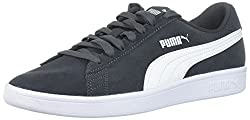 Puma Men's Smash V2 Sneaker, Asphalt White, 10 M Us