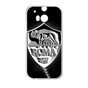 As Roma Logo For HTC One M8 Cell Phone Case White BTY657190