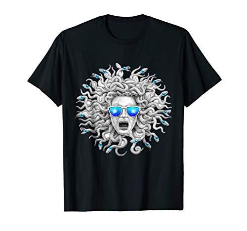 Greek Mythology Head of Medusa Monster Snake T-Shirt