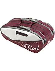 HEAD Schlägertasche Maria Sharapova Tennis Racquet Combi Bag, Weiß, 75 x 30.5 x 30.5 cm, 55 Liter, 283055