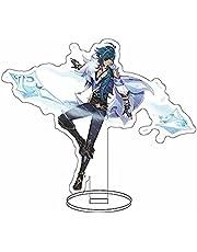 Karakter Stand Model, Anime Genshin Impact Kaeya 16cm Figuur Staande Teken Cartoon Afbeelding Display Accessoires Ornamenten Speelgoed