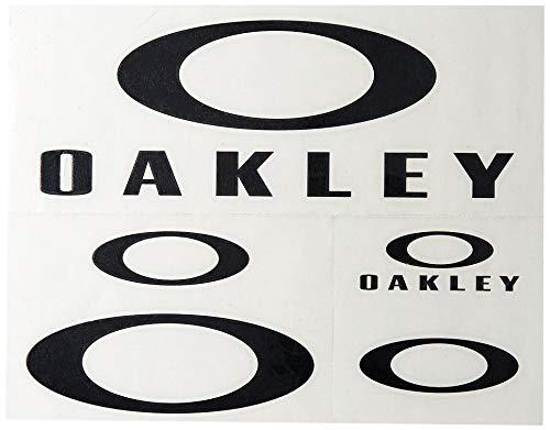 Oakley Unisex-Adult Oakley Sticker Pack Large Replacement Lenses, Black, 0 mm
