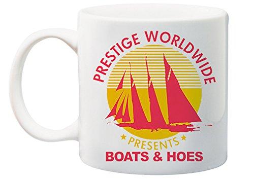 Prestige Worldwide Presents Boats and Hoes 11 Ounce Coffee Mug - Catalina Coffee Mug