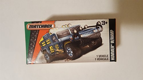 NEW 2016 Matchbox Hummer W/Ramp LIMITED EDITION SEALED BO...