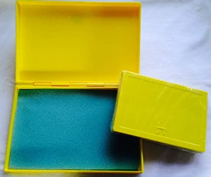 Best Match 2 Sizes Of Plastic Storage Boxes Yellow Yellow, Empty Box For DIY