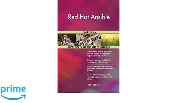Red Hat Ansible Third Edition: Gerardus Blokdyk: 9780655427230