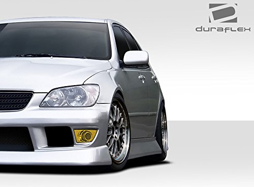 Extreme Dimensions Duraflex Replacement for 2000-2005 Lexus is Series IS300 B-Sport Side Skirt Rocker Panels 2 Piece