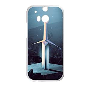 HTC One M8 Cell Phone Case Covers White Sword in the Stone lem