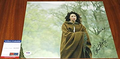 Caitriona Balfe Signed 11X14 Outlander W/Character Name Claire - Psa/D
