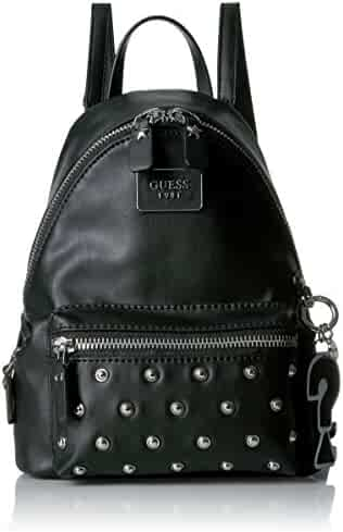 GUESS Cool School Small Leeza Backpack-Black