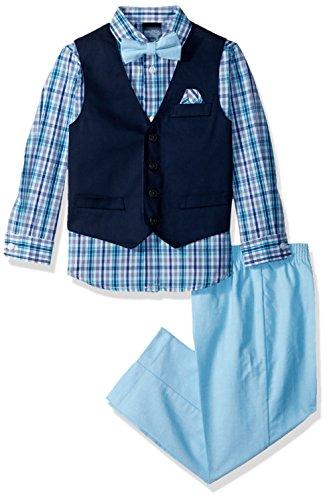 Nautica Boys Vest Pant Shirt