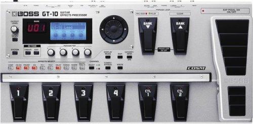 Multieffects Bass Guitar Effects
