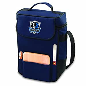 NBA Dallas Mavericks Duet Insulated 2-Bottle Wine and Cheese Tote
