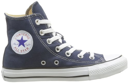 White Converse All Taylor Unisex Star Navy Navy Canvas Hi Top Chuck Trainers PxqPwdr