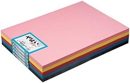 北越紀州製紙 (業務用20セット) やよいカラー 4ツ切 10枚 116 うぐいす