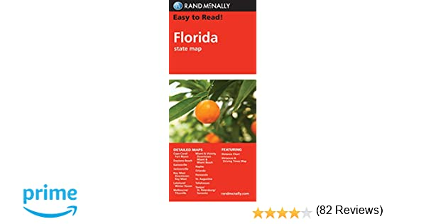 Easy To Read Florida State Map Rand Mcnally Easy To Read Rand - Map of tomato purchases in us