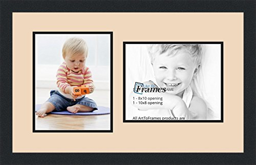 ArtToFrames Collage Photo Frame Double Mat with 2 - 8x10 ...