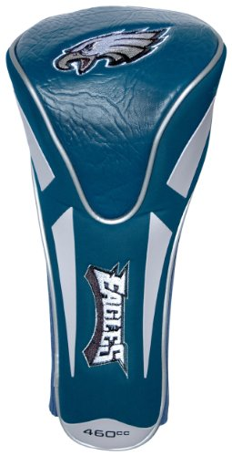Team Golf NFL Philadelphia Eagles Golf Club Single Apex Driver Headcover, Fits All Oversized Clubs, Truly Sleek ()