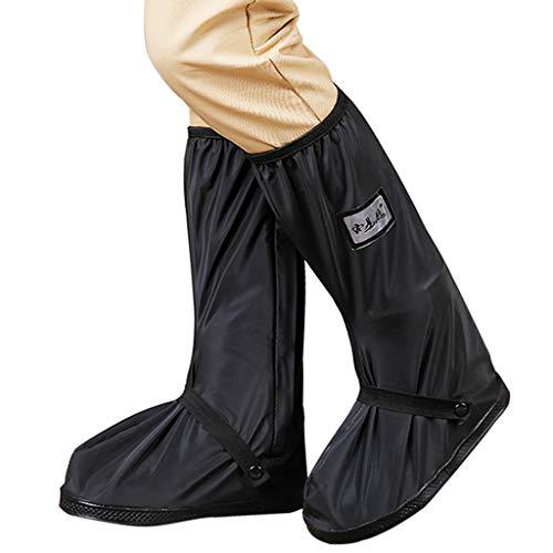 Scivolo Anti Scarpe Pioggia Nero Bianco Per Uomo Rainstorm Da Stivali Perfetto Riutilizzabili Copriscarpe Impermeabili Snowstorm Donne q04xwz181