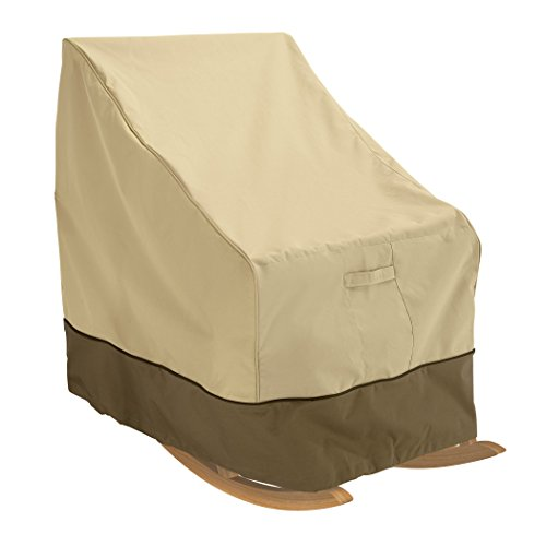Classic Accessories Veranda Patio Rocking Chair Cover - Durable and Water Resistant Patio Set Cover, Large (55-624-011501-00) - Patio Furniture Rocking Chairs
