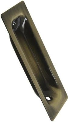 Nacional N335 – 570 empotrable tirador de puerta con tornillos, color latón envejecido: Amazon.es: Bricolaje y herramientas