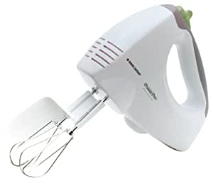 Black & Decker APP MX55 PowerPro 200-Watt 5-Speed Mixer Plus Boost, White