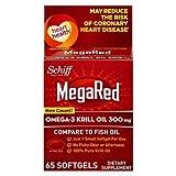 MegaRed+ 10434 Omega-3 Krill Oil Softgel, 60 Count